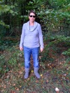 Anja im Wald