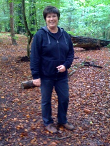 Anette im Wald